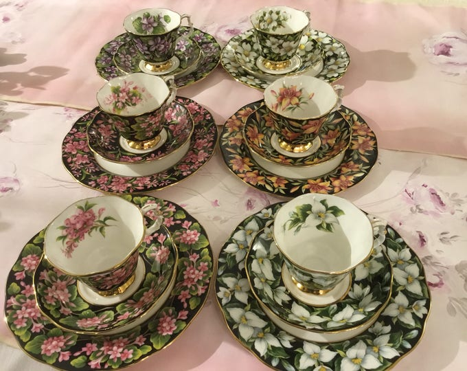 Royal albert rare service from 6