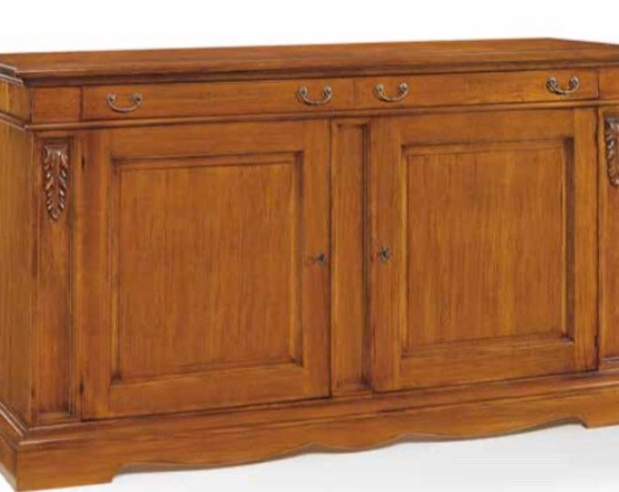 "Walnut wood cupboard ""bugna"""