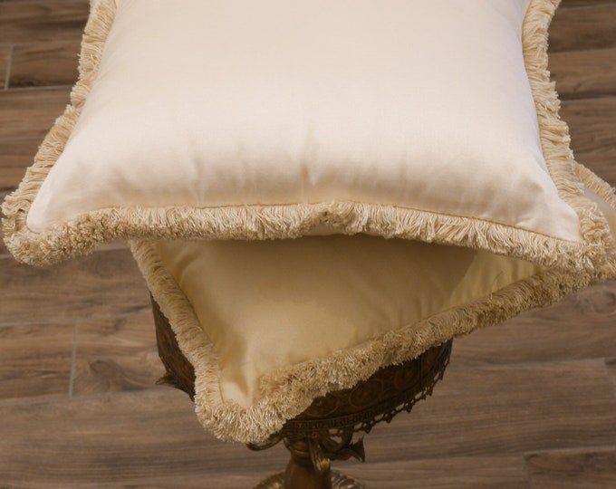 """Luxury gold cushion collection """"IMPERIAL"""" gold and ivory"""