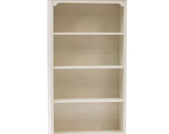 "White shabby bookcase ""Lilly"""