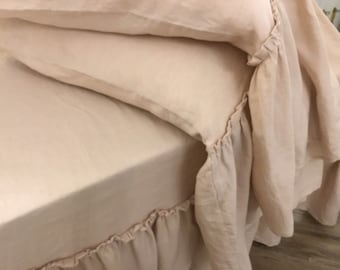 """Pink """"natural chic"""" pillow-cover Pair"""