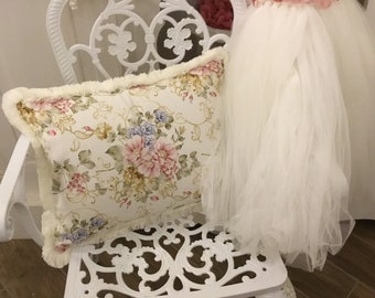 """Flower Cushion with Toothbrush collection """"The Flowers of Art Nouveau"""""""