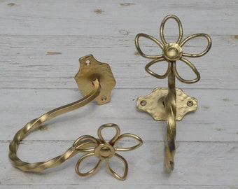 "Wrought iron Fermatende ""Flower"""
