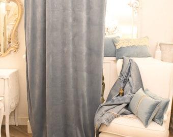 "Velvet tent ""SanCarlo"" powder blue"