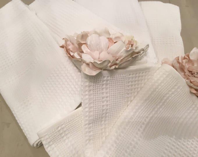 Honeycomb towels Set