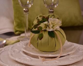 Wedding favor green sage