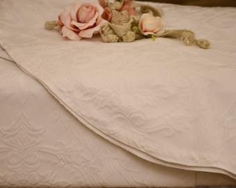 """Cotton piquet bedspread """"Botticelli"""""""