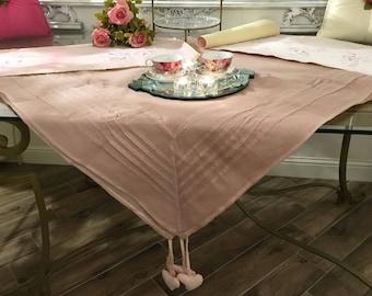 Pink Chic organza Tablecloth
