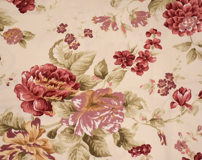 Flower chic fabric large flowers