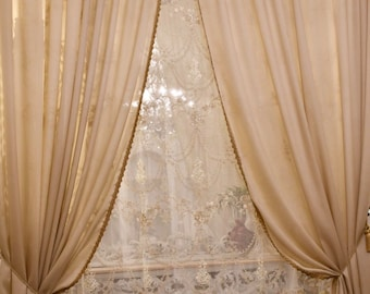 """Complete tents """"Maria Teresa"""" collection precious curtains"""