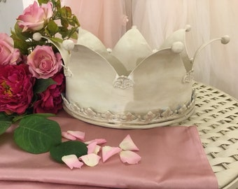 Iron crown antique luxury wedding