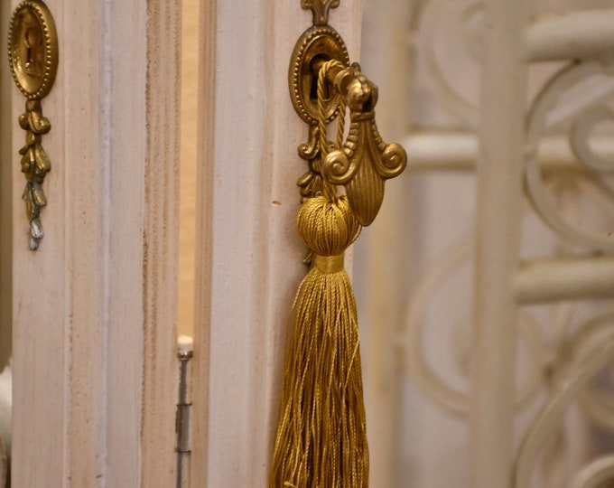 """Gold key bow """"Angel"""""""
