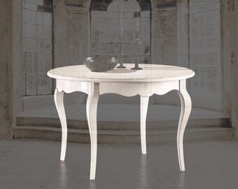 """Round wooden table """"chanel"""""""