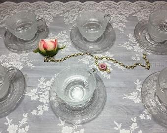 """Retró"" glass cups"