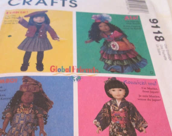 McCall's doll pattern 9118