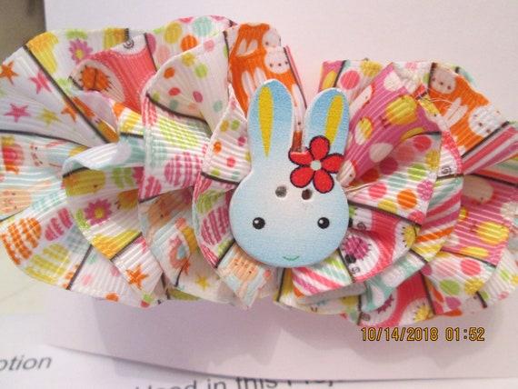 Easter bunny barrette