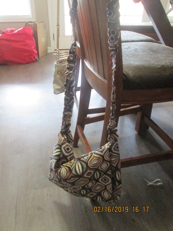 Plus size cross body purse