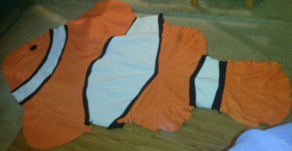 Clown Fish Rag Throw