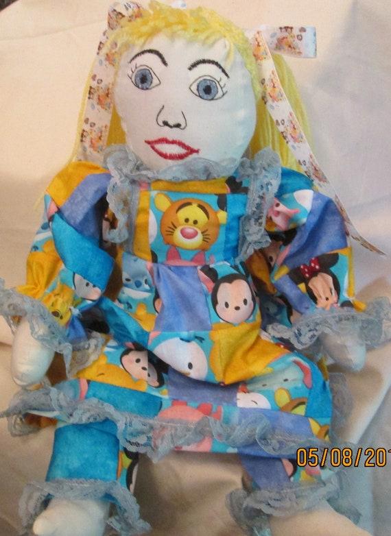 Patchwork Tsum Tsum Doll