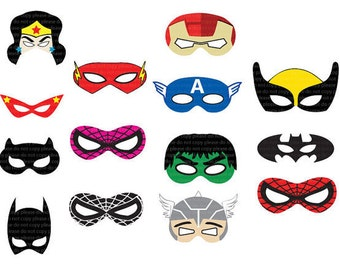 photograph about Free Printable Superhero Photo Booth Props identify Lara Rehani upon Etsy