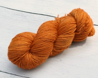 You Must Be A Weasley {Dyed to Order} Rust - Ginger - Sock Yarn - Single Ply - DK - Sport - MCN Choose Your Base - Harry Potter Inspired -
