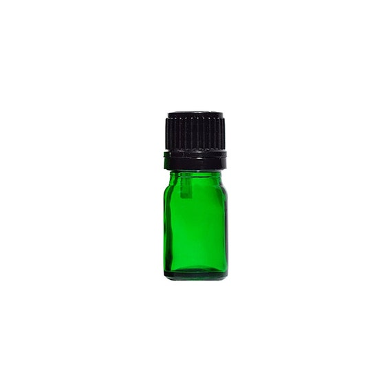 64dd8f46030e 10ml Dropper Bottle - 6 Unit Pack of Empty Green Glass European Style  Droppers to with Essential OIls and Personal Body Oils
