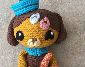 Octonauts Dashi Crochet Pattern, Crochet toys, Dashi Pattern, Amigurumi pattern, Octonauts crochet, amigurumi toy, gift