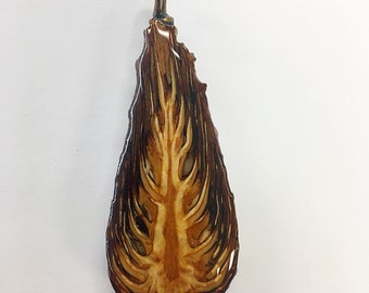 Scotch Pine Cone Necklace Pendant