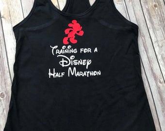 Run Disney Half Marathon Training Women's Tank Top, Marathon, Princess, Dark Side, tinker bell, Star Wars, Avengers Weekend