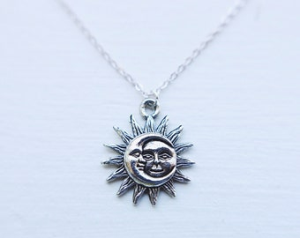 Celestial Sun & Moon Necklace