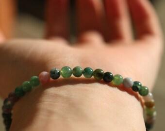 Earthling Glass Beaded Bracelet/anklet