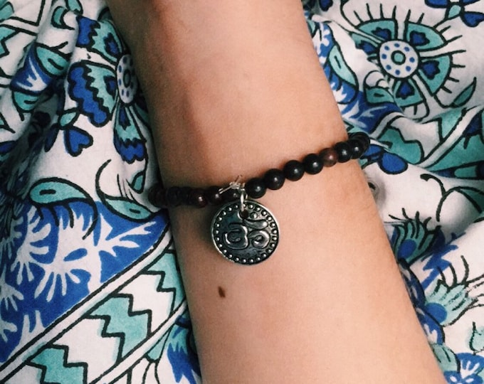 Namaste Glass Bracelet