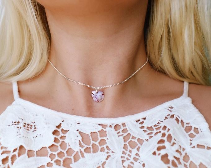 Aloha Swirl Shell Choker Necklace