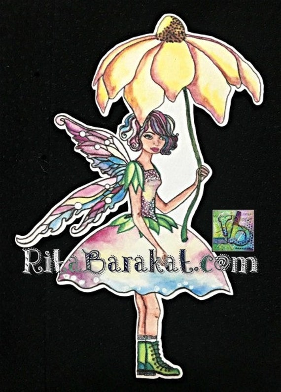 Card Toppers Fairies// Fae faery Card Toppers//card making//craft supplies//