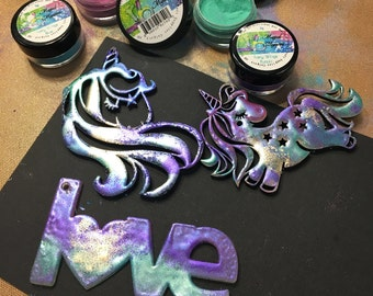 Embossing powder - Fairy Wings, iridescant, magical, fairy, stamping, Emerald Creek