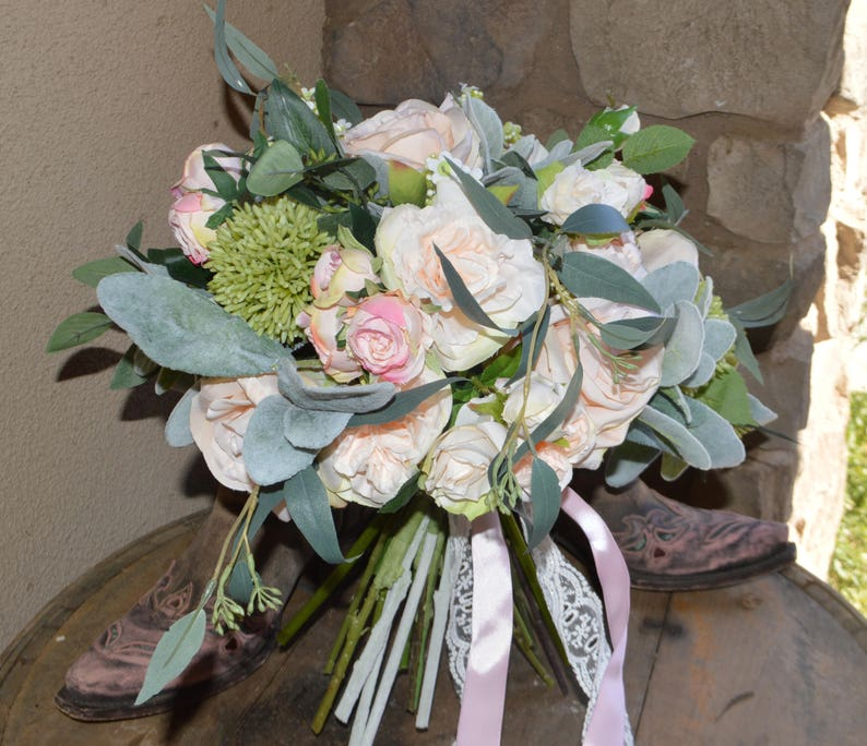 Boho Boquets Garden Fresh Bouquet Boho Bride Wedding Bouquet Silk Wedding Bouquet,Brides Bouquet Bridesmaid Bouquets