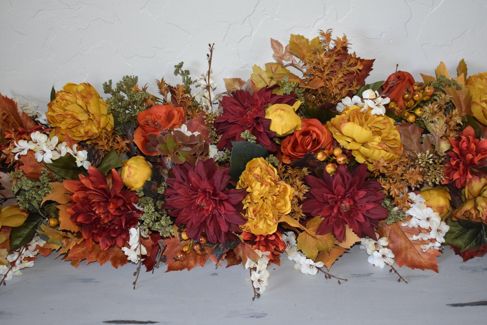 Fall Floral Garlands
