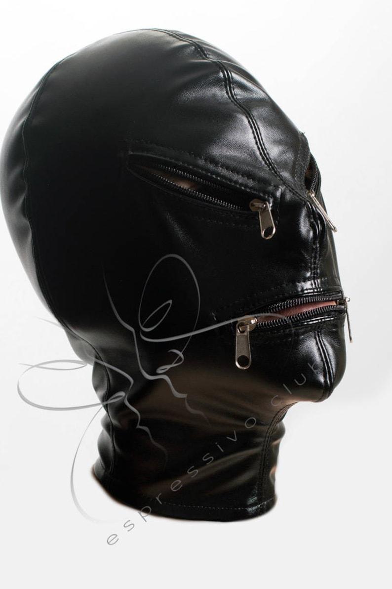 Women silk mask bondage