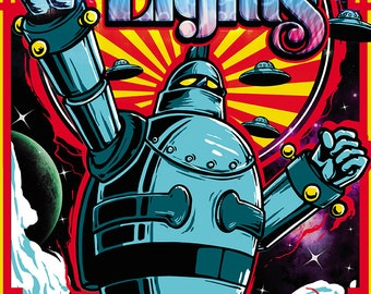 Official Poster Pretty Lights By Lopan400 2013 11 X 17 Music Show Print Reno  Nevada Gigantor The Grouch Eligh Odesza Fresh Bakin