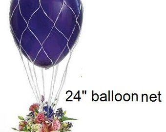 """Balloon Nets 24"""" Hot Air Balloon Net Great for Centerpiece and Photo Props Weddings (This listing is for net only) """"Same Day Shipping"""""""