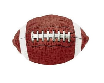 """Football Balloon 18"""" or 36"""" Foil Balloon Football Party, Sports Party, Birthday Party  """"Same Day Shipping"""""""