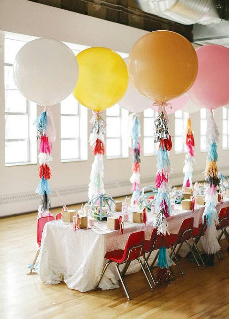 Birthday Baby Shower Wedding Party Same Day Shipping Monday-Saturday Tassel Garlands 5 Tissue Paper Tassels Garland  DIY KIT