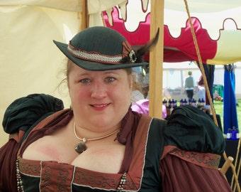 1d0d4c7f82e Elizabethan Ladies Riding Hat