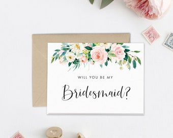 will you be my bridesmaid etsy