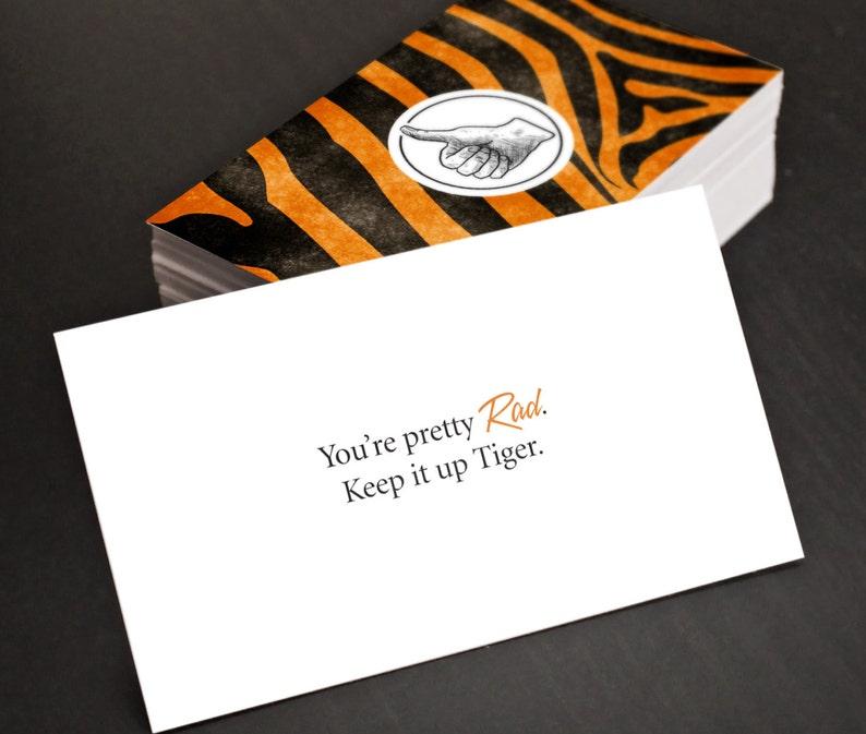 Gag Des Cartes Cadeaux Rad Tiger Daffaires Blague