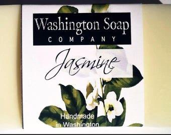 Jasmine ~ Pure Natural Glycerin Soap ~  J a s m i n e  ~  full of grace & elegance  ~