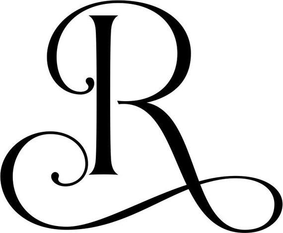 Tattoo Initials Mn: Madera Iniciales Letras De Madera Letras Del Monograma De