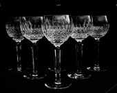 Waterford Colleen Wine Hock Glasses 7.5