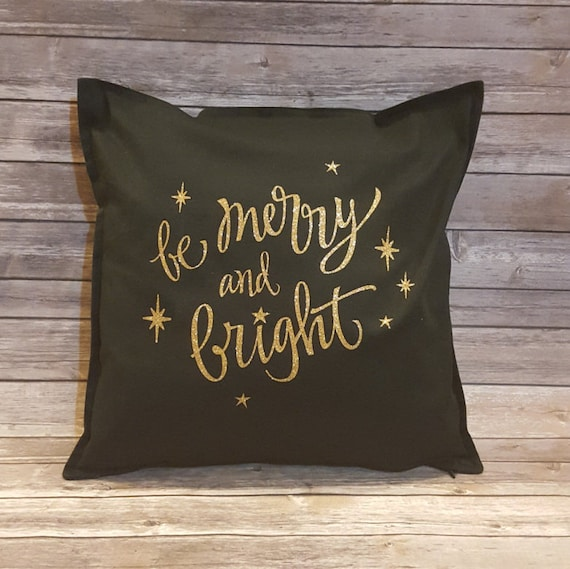 Merry and Bright Decorative Pillow