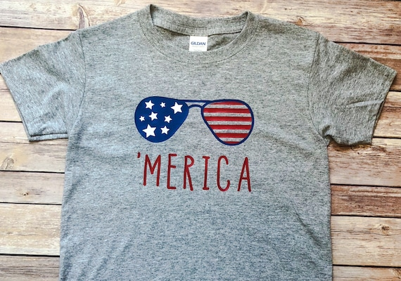 4th of July Boys Tee